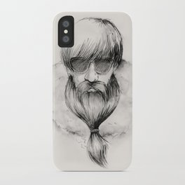 homeless hipster iPhone Case