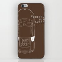 audi iPhone & iPod Skins featuring Vorsprung Durch Awesome by Salmanorguk