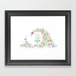 Tea Idea Framed Art Print