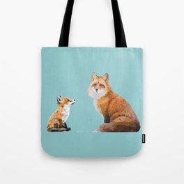 Fox Tenderness Tote Bag