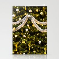 christmas tree Stationery Cards featuring Christmas Tree by Pati Designs