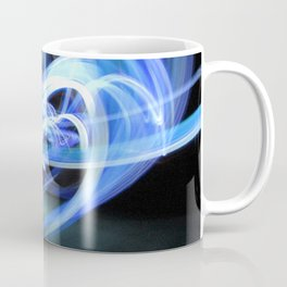 (Mostly) Blue Light Painting Coffee Mug