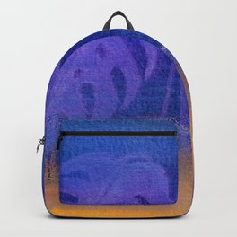 Yesterday's News Blue Backpack