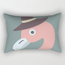 Cute Flamingo Rectangular Pillow
