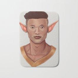 Chad, the Karate Elf Bath Mat