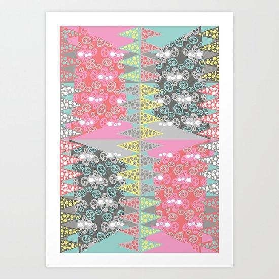 Zinging Art Print