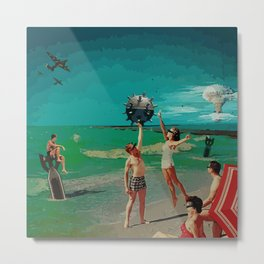 Summer is Magic Metal Print