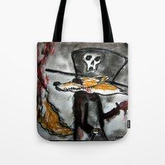 Dandy Fox Demonic Tote Bag