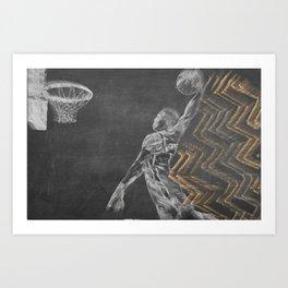 Westbrook Chalkboard Art Print