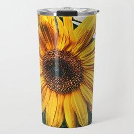 Sunflower in autumn Travel Mug