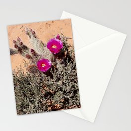 Desert Flower Stationery Cards