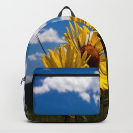 A Rocky Mountain Sunflower Backpack