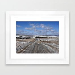 Lepley Road Framed Art Print