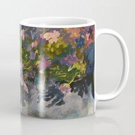Pond with flowers Coffee Mug