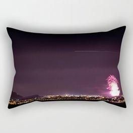 Arthurs Seat Fireworks Rectangular Pillow