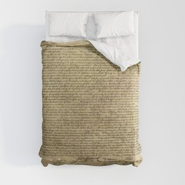 Declaration of Independence Comforters