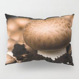 Mushroom in the soil Pillow Sham