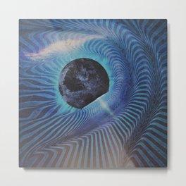 Planetary Explosion Metal Print