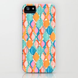 marmalade balinese ikat mini iPhone Case