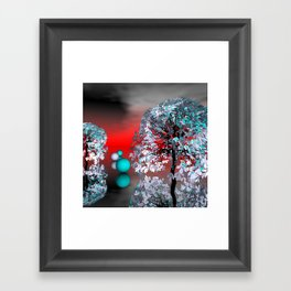 another landscape in nowhereland -2- Framed Art Print