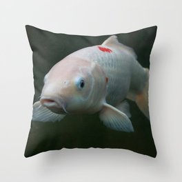Carp FIsh Throw Pillow