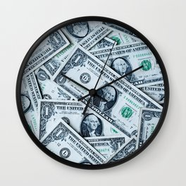 Mo money Wall Clock