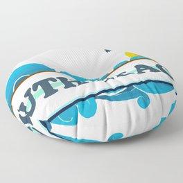 South Beach - Miami. Floor Pillow