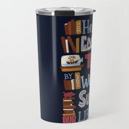 Libraries Travel Mug