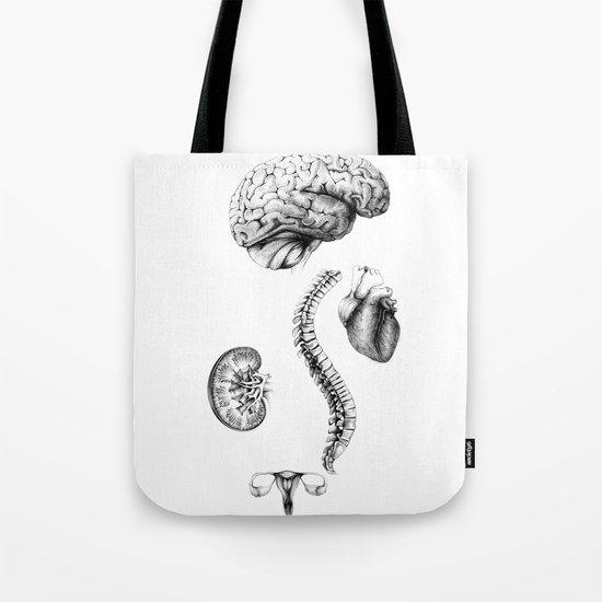 Anatomy Tote Bag