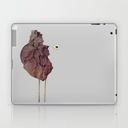 This is not a colorful heart Laptop & iPad Skin