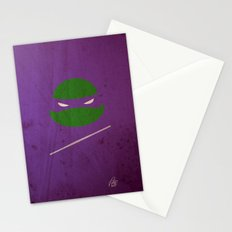 TMNT Donnie poster Stationery Cards