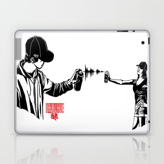 FAVEWAVEARTS Laptop & iPad Skin