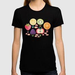 Fruity Hot Air Balloons T-shirt