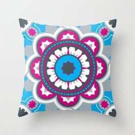 Chilean Flower Throw Pillow