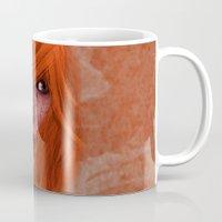 redhead Mugs featuring redhead by Nuria Mrtz. FotoArt