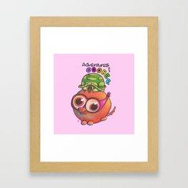 Adventures with Goober - Donatello Framed Art Print
