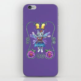 Angel Kitty (Purple) iPhone Skin