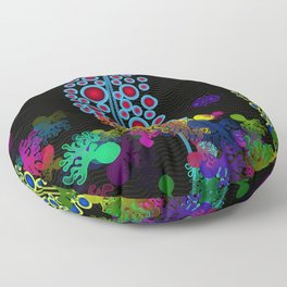 Synthetic Biology - Synthetic Microecosystem Floor Pillow
