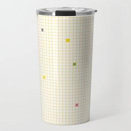 Checked Pattern_P Travel Mug
