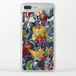 Me, King! Clear iPhone Case