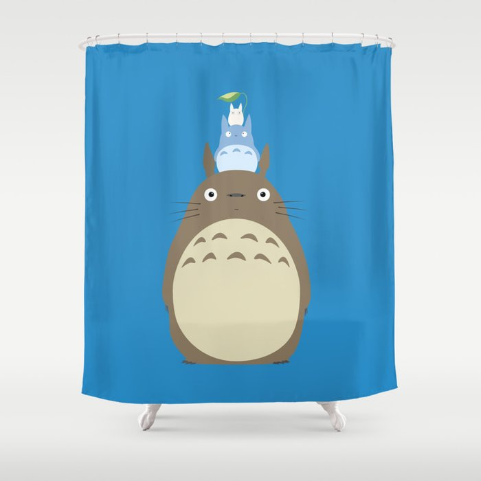 Totoro Shower Curtain By Adovemore