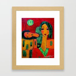 The Home Body Framed Art Print