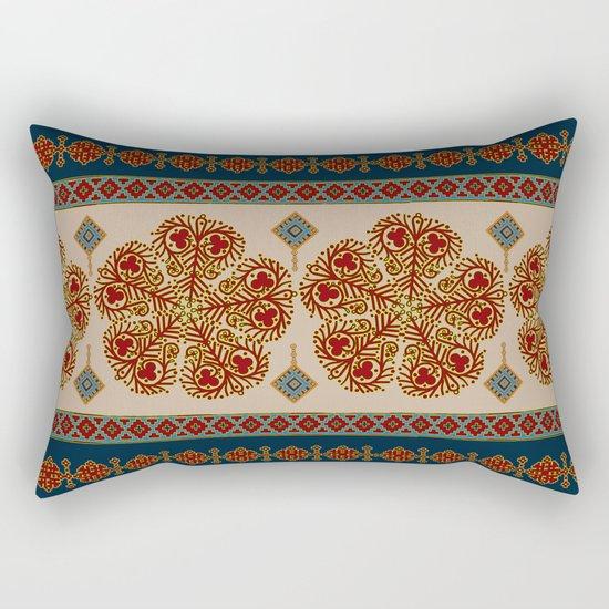 Flower pattern #0243 Rectangular Pillow