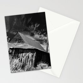Bodie ghost town house Stationery Cards