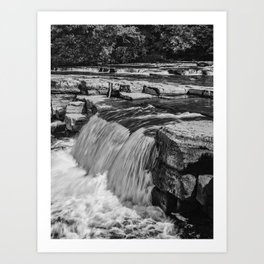Richmond Falls Art Print