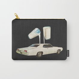 White Car Carry-All Pouch