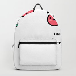 JUST A PUNNY CHERRY JOKE! Backpack