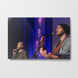 Timothy Omundson and Jason Manns at PurCon Metal Print