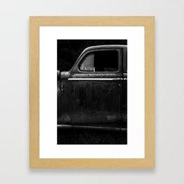 Old Junker Car Framed Art Print