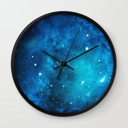 Galaxy sky space nebula stars universe cosmos Wall Clock